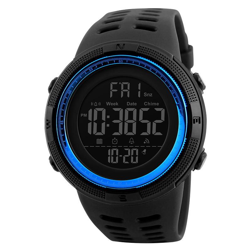 Уцінка!!! Skmei 1251 Amigo сині чоловічі спортивні годинник