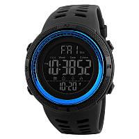 Уцінка!!! Skmei 1251 Amigo сині чоловічі спортивні годинник, фото 1
