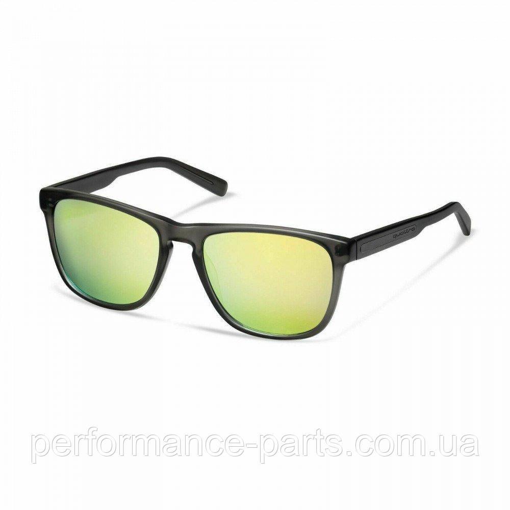 Сонцезахисні окуляри унісекс Audi quattro Sunglasses Mirror Lens, anthracite/yellow, 3112000400