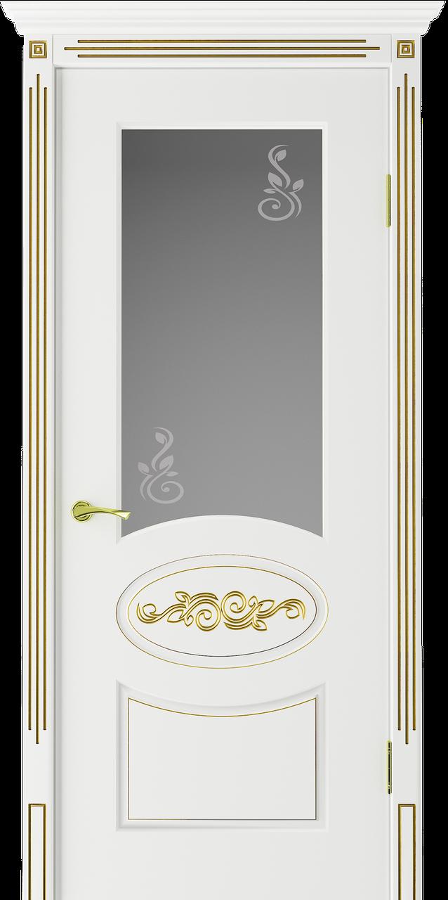 Міжкімнатні двері VIP «Версаль П. Про» (+ патина)