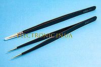 Пинцет ESD-11 антистатический прямой 140mm