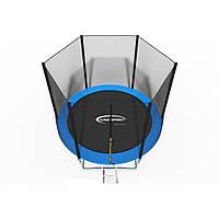 Батут детский King Sport 252 см c лесенкой и защитной сеткой Спортивный прыгательный батут для дома и детей