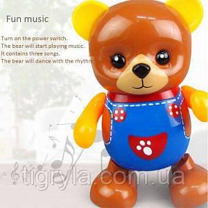 Танцующий мишка,  музыкальная игрушка медведь танцует
