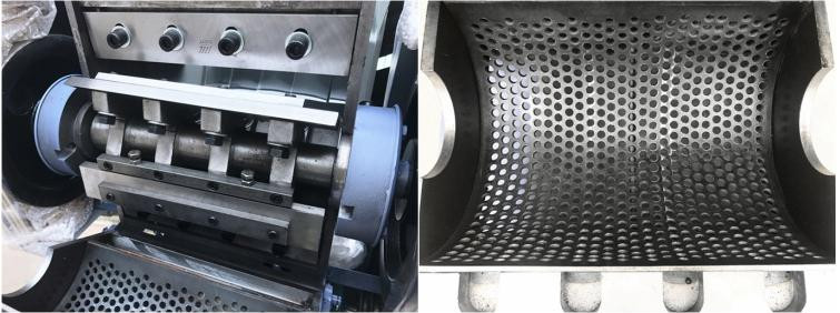 Подрібнювач (шредер) для знищення твердих побутових відходів, каналізаційного сміття до 600 кг/год типу FSU