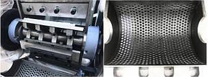 Подрібнювач (шредер) для знищення твердих побутових відходів, каналізаційного сміття до 600 кг/год типу FSU, фото 2