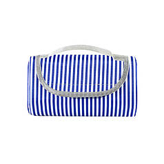 Коврик для пикника и кемпинга складной Shanpeng Njb-001 Темно-синяя Полоса 150*200 см каремат