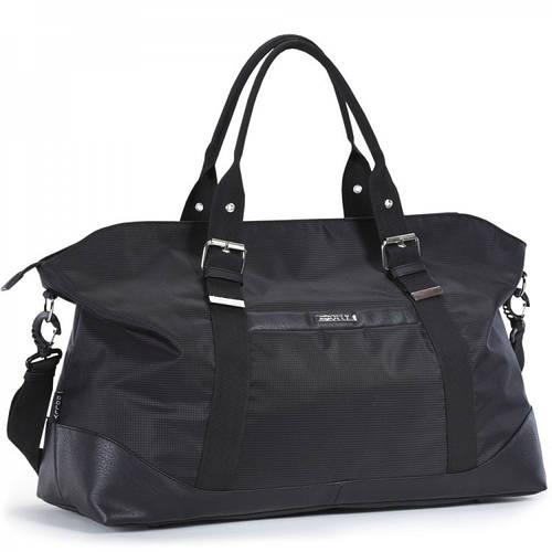 Черная мужская дорожная сумка 42 л. Dolly (Долли) 774
