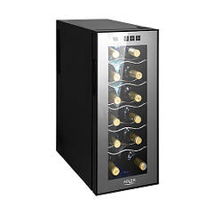 Винный холодильник Adler AD 8075 на 12 бутылок / 33 литра
