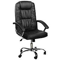 Офисное кресло для руководителя с функцией качания. Современный дизайн эко-кожа, до 120кг tr-bs03 A1