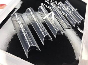 Верхні форми для нарощування нігтів з розміткою, 100 шт/уп