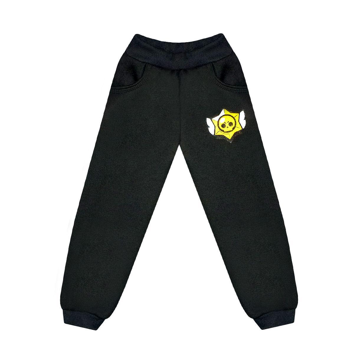 Детские штаны для мальчика трехнитка-начес