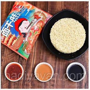 Вермишель пшеничная быстрого приготовления с кунжутной пастой 140г  GuDaSao, фото 2