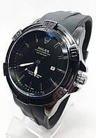 Годинники чоловічі наручні Rolex (Ролекс), чорні ( код: IBW682B )