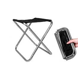 Складаний стілець туристичний легкий і компактний Без спинки