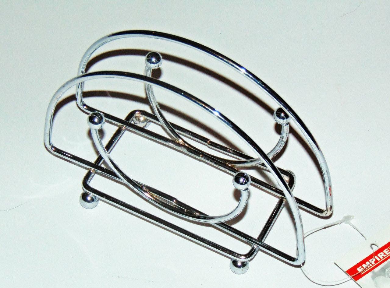 Подсалфетник Empire проволка метал, Подсалфетник металический, Подставка под салфетки из металла, Подсалфетник