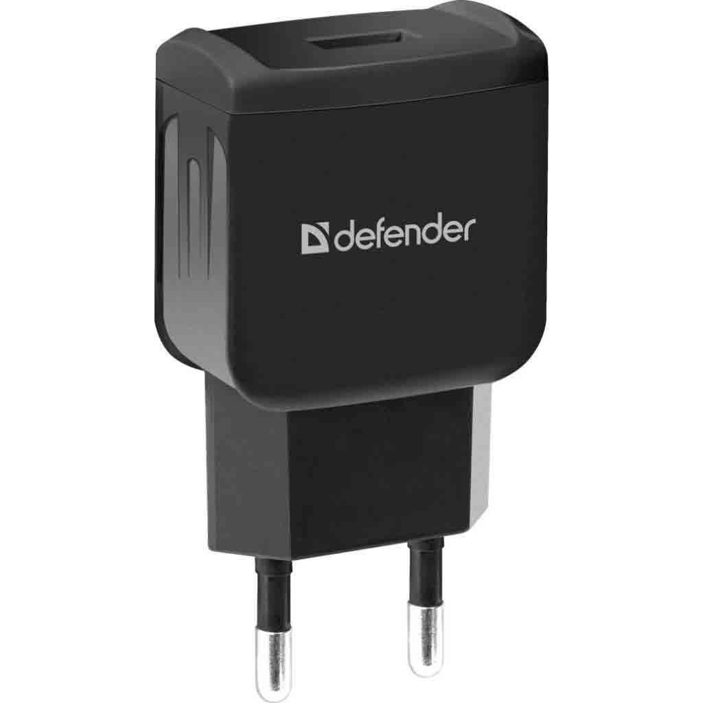 DEFENDER EPA 02 чорний 1 USB 5V/1A