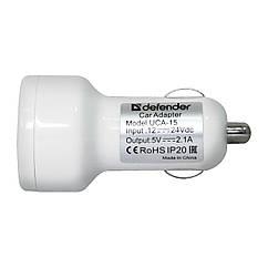 DEFENDER UCA 15 5V/2A+1A USB