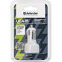 DEFENDER UCA 15 5V/2А+1A USB, фото 2