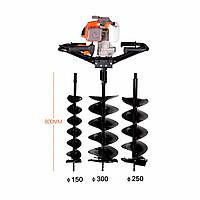 Шнек для мотобура Baumax 3WT-300B, 150 мм
