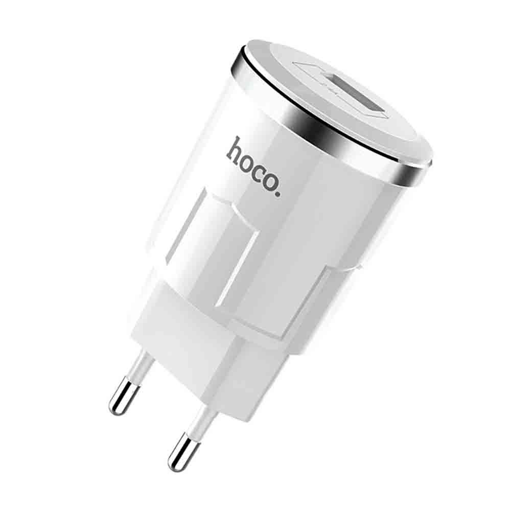 HOCO C37A Thunder Power Charger 1USB/2,4A White