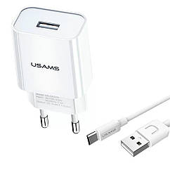 USAMS T21 (T18+ Type-C cable) White