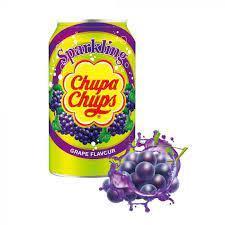 Напиток газированный Chupa Chups виноград  345 мл