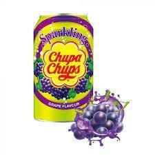 Напиток газированный Chupa Chups виноград  345 мл, фото 2