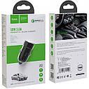 Hoco Z32A Flash Power Fully Compatible 1USB/18W/4A/QC3.0 Black (без кабеля), фото 2