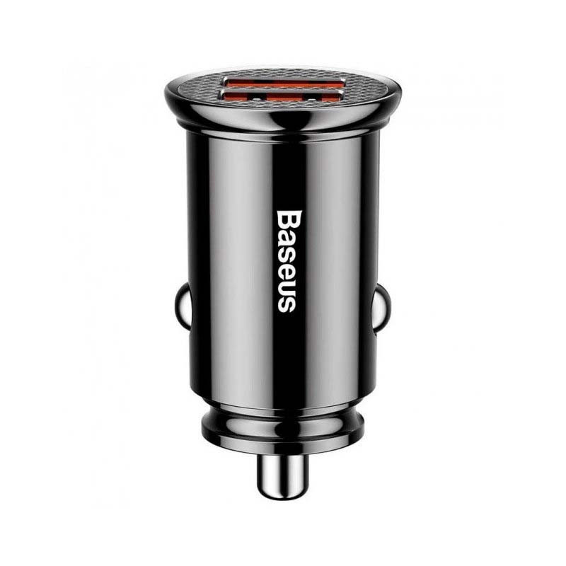BASEUS Circular 2USB/5A/30W/QC3.0 Black