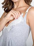Ночная рубашка для беременных и кормящих Melange, фото 3