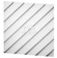 Гіпсові 3D (3д) панелі Diagonal Texturo