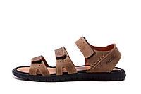Чоловічі шкіряні сандалі Nike ACG Olive (репліка), фото 1