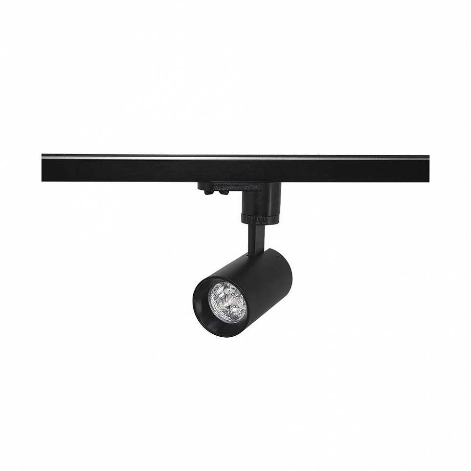 Трековый светильник Skarlat H209A-COB 7W BK 3000K