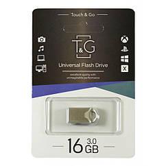 Флешка T&G 106 16 ГБ Metal series silver