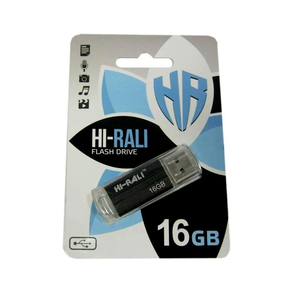 Флешка HI-RALI 16 ГБ Corsair series Black