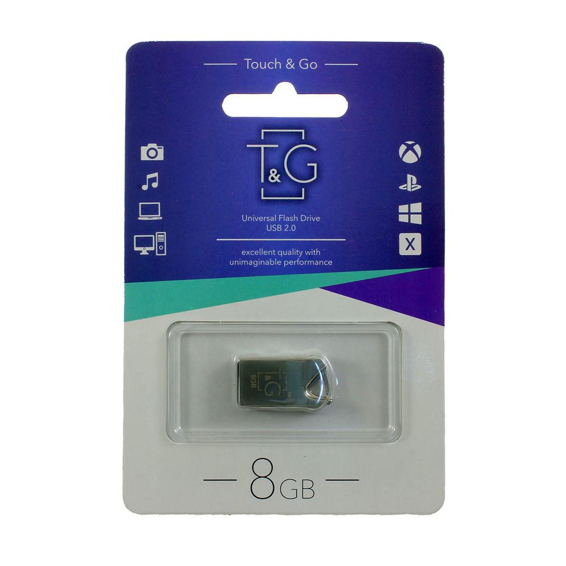 Флешка T&G 109 8 ГБ Metal series