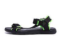 Мужские кожаные сандалии Nike Track Black (реплика), фото 1