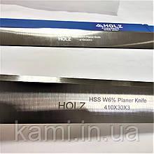 Строгальный нож HOLZ HSS 6%W 410х30х3 для рейсмуса, фуганка