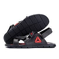 Чоловічі шкіряні сандалі Reebok NS Red (репліка), фото 1
