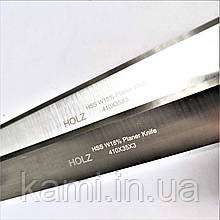 Строгальный нож HOLZ HSS 18%W 410х35х3 для рейсмуса, фуганка