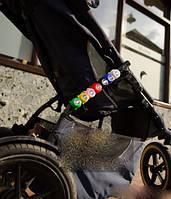 Светодиодные фонари безопасности на коляску