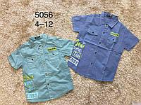 Рубашка для мальчика оптом, F&D, 4-12 лет,  № 5056