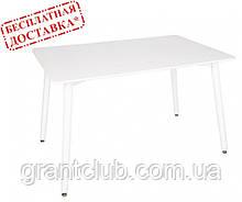 Стіл пластиковий Barberry (Барберрі) 120х80 білий (безкоштовна доставка)