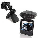 Автомобильный видеорегистратор с разъемом для микро SD, дисплеем 2.5 дюйма и поворотным экраном 198 HD DVR LCD, фото 5