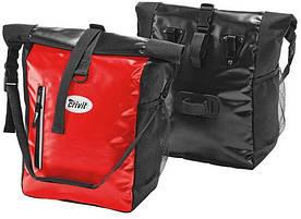Велосумка на багажник с дождевиком 24 L Сrivit IAN326433-2 красная