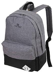 Городской рюкзак 28L Corvet BP2143-18 серый с черным