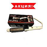 Плойка для волосся Gemei GM-2986 3 в 1! Стайлер для великих локонів і завивки волосся, прилад для укладання, фото 3