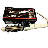 Плойка для волосся Gemei GM-2986 3 в 1! Стайлер для великих локонів і завивки волосся, прилад для укладання, фото 4