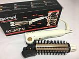 Плойка для волосся Gemei GM-2986 3 в 1! Стайлер для великих локонів і завивки волосся, прилад для укладання, фото 10
