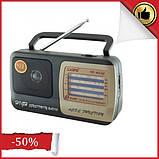 Портативний радіоприймач на батарейках KIPO KB-408AC, Fm радіоприймач від мережі і батарейок, Fm радіо, фото 2